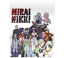 Mirai Nikki (Future Diary) Poster