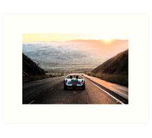 1955 Porsche 550 Spyder Art Print