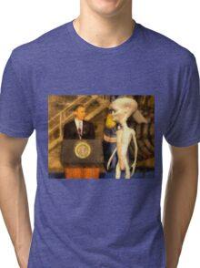 Alien President Tri-blend T-Shirt