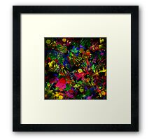 Spiky Psychedelic  Framed Print