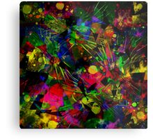 Spiky Psychedelic  Metal Print
