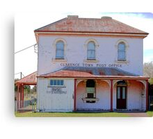 Clarence Town Post Office - Circa 1860 Canvas Print