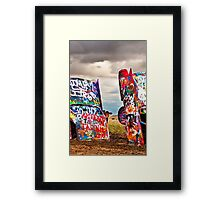 Cadillac Cows Two Framed Print