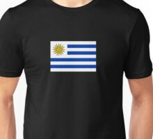 Uruguay World Cup Flag Futbol T-Shirt Duvet Cover Sticker Unisex T-Shirt
