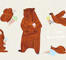 It has come to my attention, I love summer. by Lars