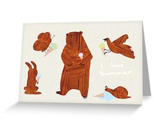 It has come to my attention, I love summer. Greeting Card