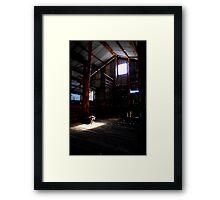 The Poolamacca Shed Framed Print