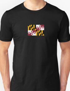 Maryland USA State Flag Baltimore Annapolis Duvet Cover T-Shirt Sticker T-Shirt