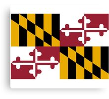 Maryland USA State Flag Baltimore Annapolis Duvet Cover T-Shirt Sticker Canvas Print