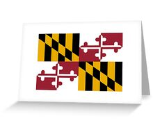 Maryland USA State Flag Baltimore Annapolis Duvet Cover T-Shirt Sticker Greeting Card