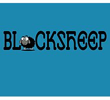 Black Sheep of the Family T-Shirt Sticker Bedspread Photographic Print