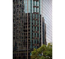 Patterns - Office building reflection Photographic Print
