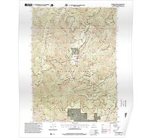 USGS Topo Map Oregon Chrome Ridge 279354 1996 24000 Poster