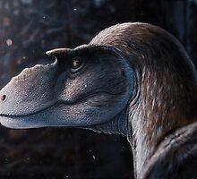 Dreadful Lizard - Gorgosaurus by Fred  Wierum