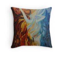 The mist .. Throw Pillow