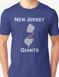 NEW JERSEY NEW YORK GIANTS T-Shirt
