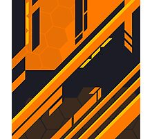 CSGO | Atomic Alloy Pattern Photographic Print