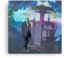 Doctor WHO - Peter Capaldi Canvas Print