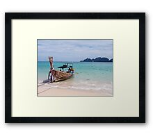 Pi Pi Island - Thailand Framed Print