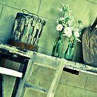 table arrangement, gooramadda, rutherglen by Georgina James