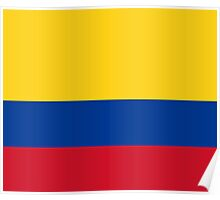 Colombia World Cup Flag Futbol Colombian T-Shirt Duvet Sticker Poster