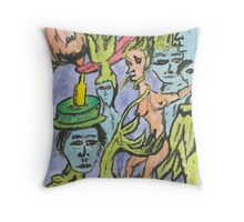 ecology-resized Throw Pillow