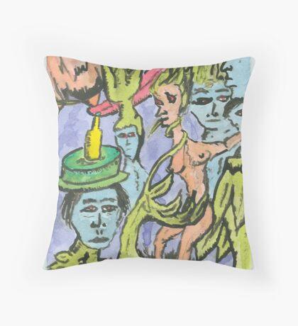 ecology-resized Throw Pillow