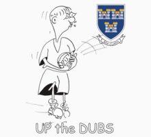 Up the Dubs! (Dublin football) One Piece - Short Sleeve