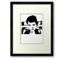 Save Ferris Bueller Framed Print
