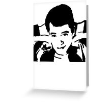 Save Ferris Bueller Greeting Card