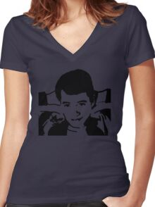 Save Ferris Bueller Women's Fitted V-Neck T-Shirt