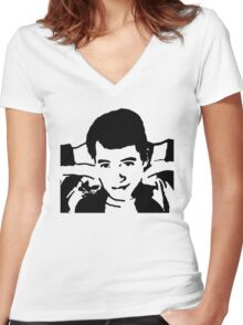 Save Ferris Bueller Women's Fitted V-Neck T-Shirt