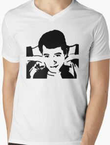 Save Ferris Bueller Mens V-Neck T-Shirt
