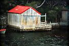 ~ The Boat Shed ~ by Lynda Heins