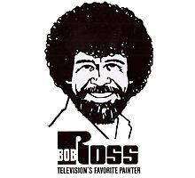 Paint Artist Bob Ross T-Shirt Photographic Print