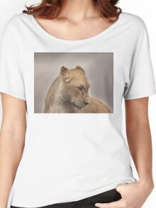 Portrait of a Lioness Women's Relaxed Fit T-Shirt