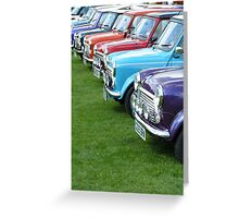Classic Minis Greeting Card