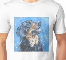 Hovawart Fine Art Painting Unisex T-Shirt