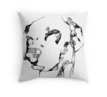 Dali Scribbler Throw Pillow