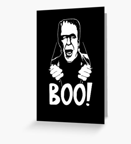 Herman Munster T-Shirt Greeting Card