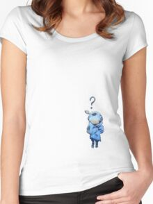 Banksy Lil Diver Women's Fitted Scoop T-Shirt