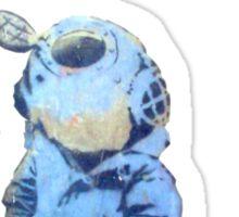 Banksy Lil Diver Sticker
