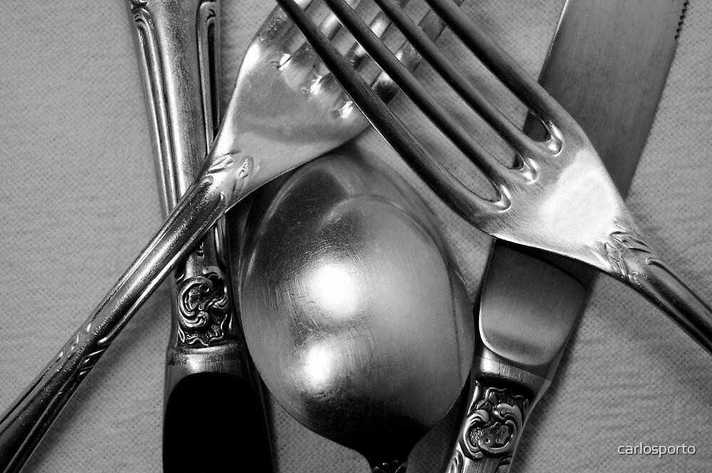 Silverware by carlosporto