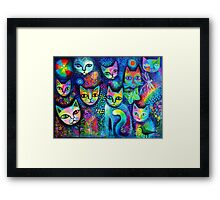 Magicats Framed Print
