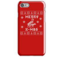 Reindeer Merry Christmas iPhone Case/Skin