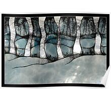 scribbler - winter trees Poster