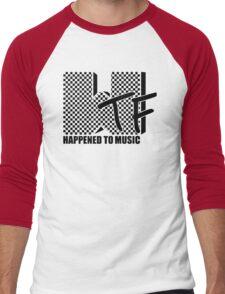 WTF Happened To Music Men's Baseball ¾ T-Shirt