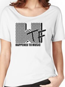 WTF Happened To Music Women's Relaxed Fit T-Shirt