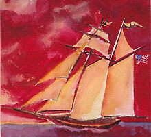 The Pride of Baltimore IX by Phyllis Dixon