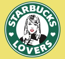 Taylor Swift - Starbucks Lovers (Hearts) Baby Tee